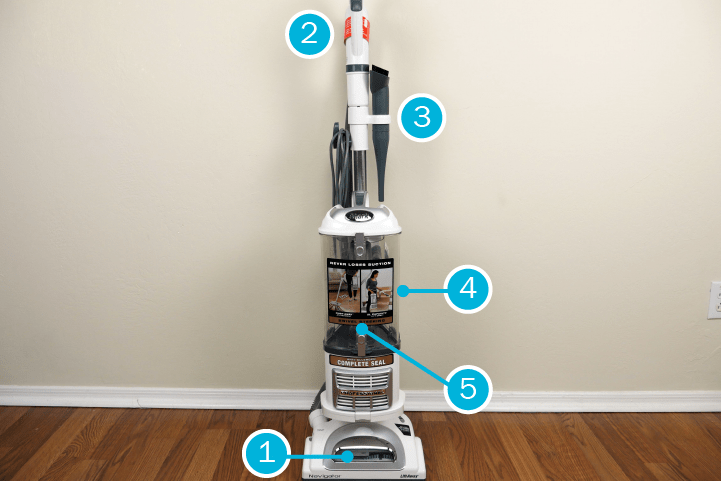How to clean shark vacuum?